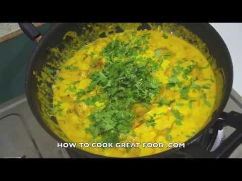 ★★ Indian Food - Vegan Tofu Curry Recipe