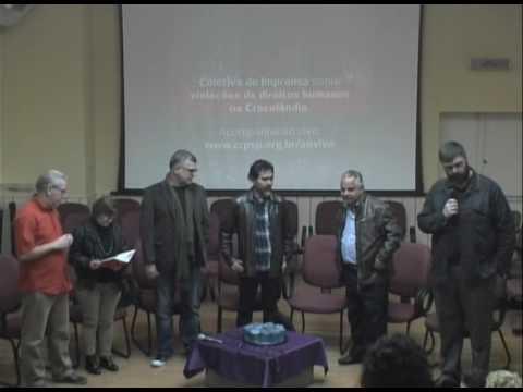 Coletiva de imprensa sobre violações de direitos humanos na Cracolândia