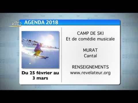 Agenda du 22 janvier 2018