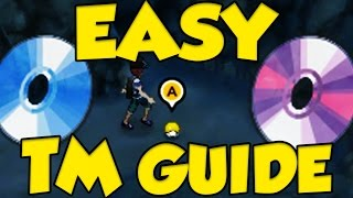 Pokemon Sun and Moon EASY TM Guide - Easiest Pokemon TM Locations Sun and Moon