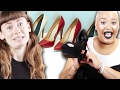 Download Youtube: Women Who Hate Heels Wear Them For A Day