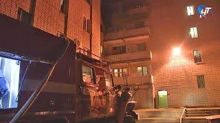 В минувшие выходные В Великом Новгороде и Пестове произошли крупные пожары