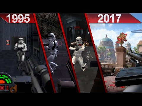 History of Star Wars | First-Person Shooter Games | PC | 1995 - 2017