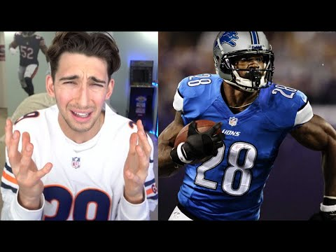Bears Fan Reacts to Adrian Peterson Signing with the Detroit Lions