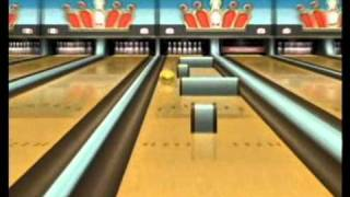 Wii Sports Resort, Bowling: Spin Control
