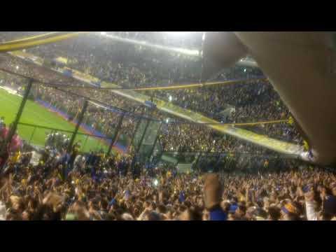 """Boca 2 palmeiras 0 - final del partido"" Barra: La 12 • Club: Boca Juniors • País: Argentina"
