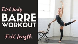 Full Length Total Body Barre Workout | 40 Minutes by Action Jacquelyn