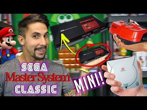 SEGA Master System CLASSIC - 3 Retro Consoles that deserve the MINI treatment