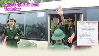 DT   Để Lại Sự Nghiệp Cho Nam OK Lên Đường Nhập Ngũ
