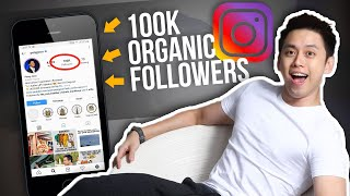 How To Get 100k Organic Followers On Instagram Fast. New 2021 Method
