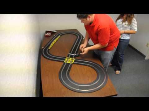 ASE – Pedal Powered Slot Car Race Track Setup