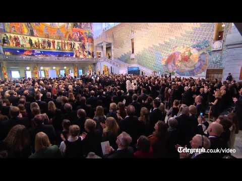 Mexicano irrumpe el Premio Nobel de la Paz