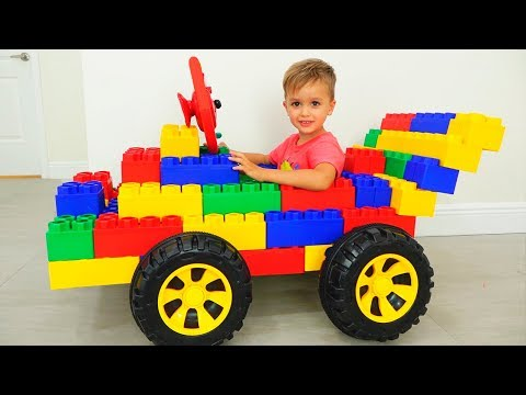 Vlad and Nikita play with Toy Cars - Collection video for kids