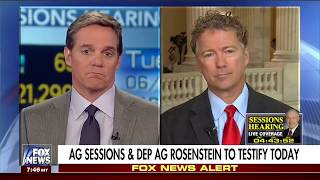 Rand Paul on James Comey, Obamacare, and Saudi Arabia