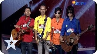 Download Video Hilarious Band get Fun with the Judges - Go Block-S - Audition 1 - Indonesia's Got Talent MP3 3GP MP4