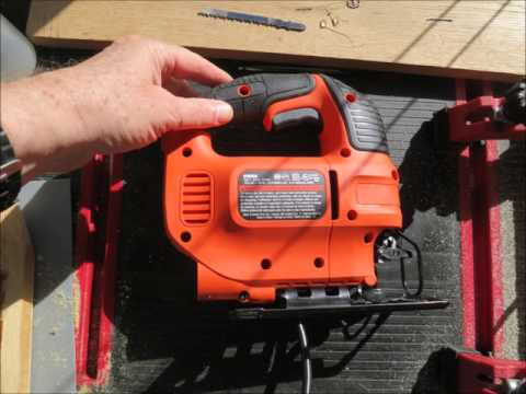 Black and Decker jigsaw review and hacks & shoutout to BCtruck & Suzellediy