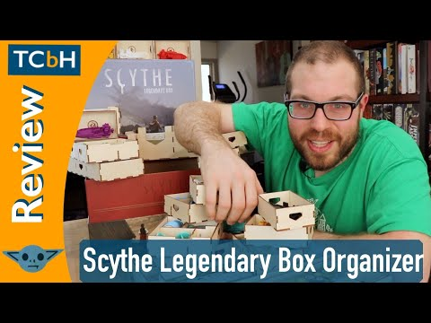 The Broken Token Scythe Legendary Organizer Review - The Cardboard Herald