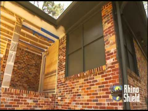 Rhino Shield has been featured twice on HGTV's Curb Appeal