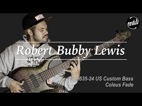 "[MusicForce] MTD 535-24 US Custom Bass Demo By Robert ""Bubby"" Lewis Mp3"