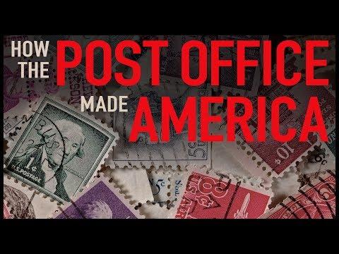 Pošta stála u zrodu USA