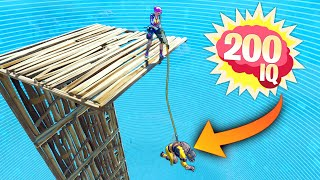 200 iq harpoon trick fortnite funny and daily best moments ep 1417