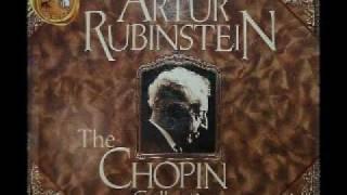 Arthur Rubinstein - Chopin Nocturne Op. 9, No. 2 in E flat