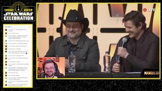The Mandalorian Panel Live   Star Wars Celebration