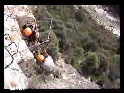 Klettersteige auf Korsika: Klettern in höchsten Höhen