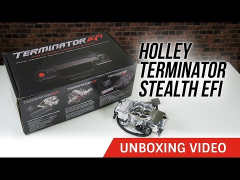 Holley Terminator Stealth EFI Unboxing Video