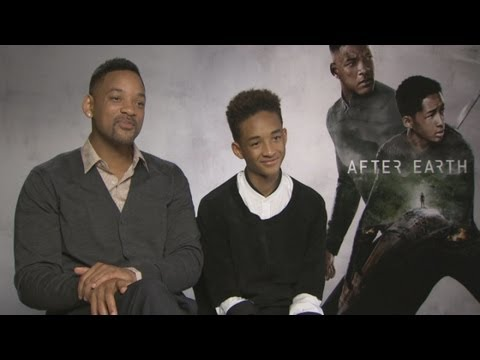 Will Smith's 'nightmare' interview with son Jaden on After Earth movie