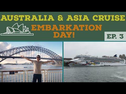 NORWEGIAN JEWEL EMBARKATION DAY l Australia Cruise Vlog l Ep. 3