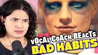 Vocal Coach Reacts to Ed Sheeran - Bad Habits