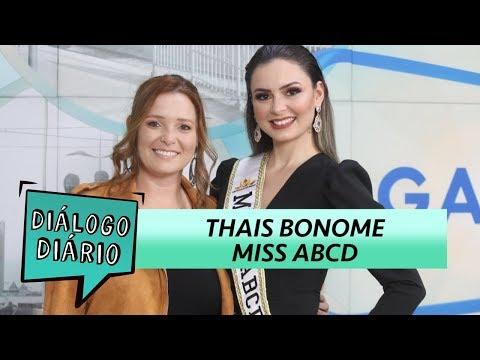 Diálogo Diário recebe a Miss ABCD