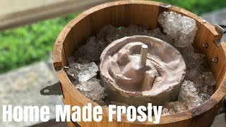 How To Make Homemade Chocolate Ice Cream| Wendys Frosty Clone