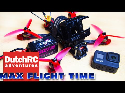 GepRC Mark4 6S - Max flight time with Gopro Hero 8