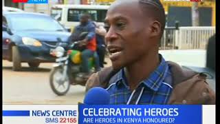 Kakamega residents give mixed views concerning the treatment of Kenyan heroes by the government