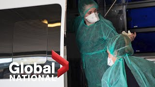 Global National: April 5, 2020 | COVID-19 cases surge in Ontario, Quebec