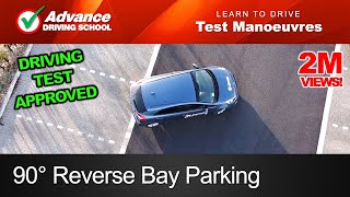 90° Reverse Bay Parking Manoeuvre  |  New UK Driving Test