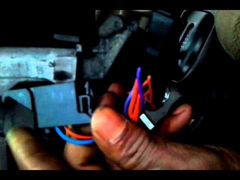 1998 Ford Contour Turn Signal Switch Removal.