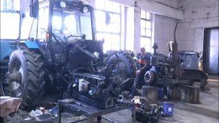В Бобровском хозяйстве Сузунского района завершают ремонт сельхозтехники