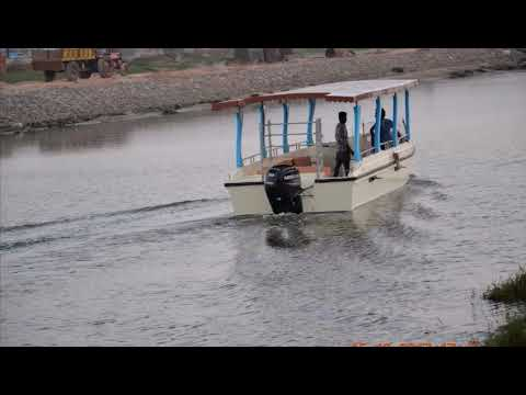 25 Seater Luxury Speed Boat With 60hp 2 Stroke OBM
