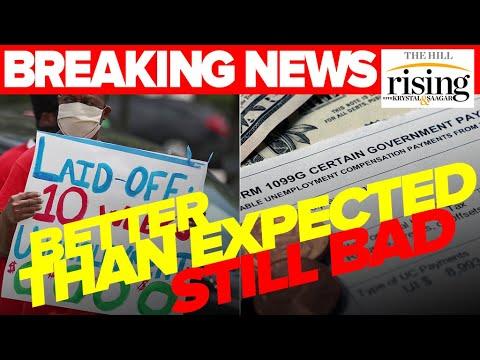BREAKING NEWS: Jobs Numbers Still Bleak As Congress Haggles Over 600 Bucks