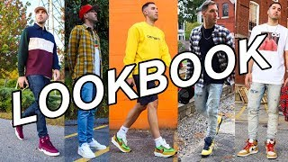 FALL LOOKBOOK - HOW TO BE STYLISH WEARING SNEAKERS - MENS FASHION INSPIRATION