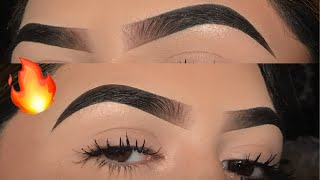 Updated Eyebrow Tutorial IG Brows | Anastasia Beverly Hills Dipbrow Pomade