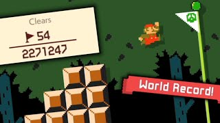 The level played 2.2 MILLION times with only 54 clears