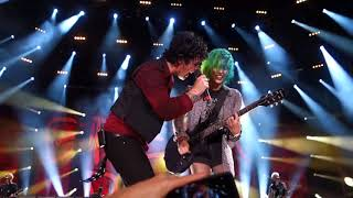 I got to play on stage with Green Day