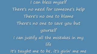 Bless Myself - Lucy Hale Lyrics