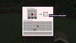 how to make redstone repeaters - Free video search site