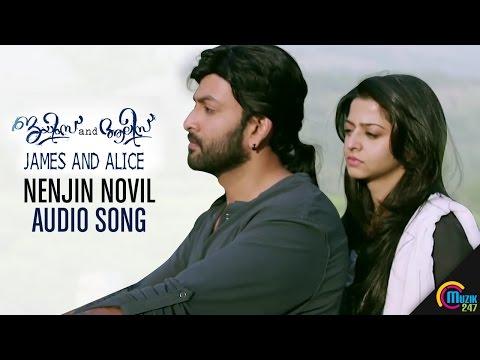 Nenjin Novil Audio Song | James and Alice| Prithviraj Sukumaran, Vedhika, Gopi Sundar | Official