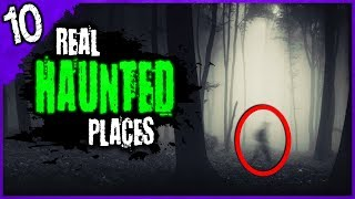 10 HORRIFYING Encounters at Haunted Places | Darkness Prevails